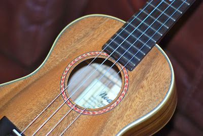 Noah Monkeypod Tenor sound hole