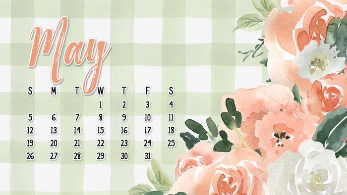 May Calendar Wallpaper