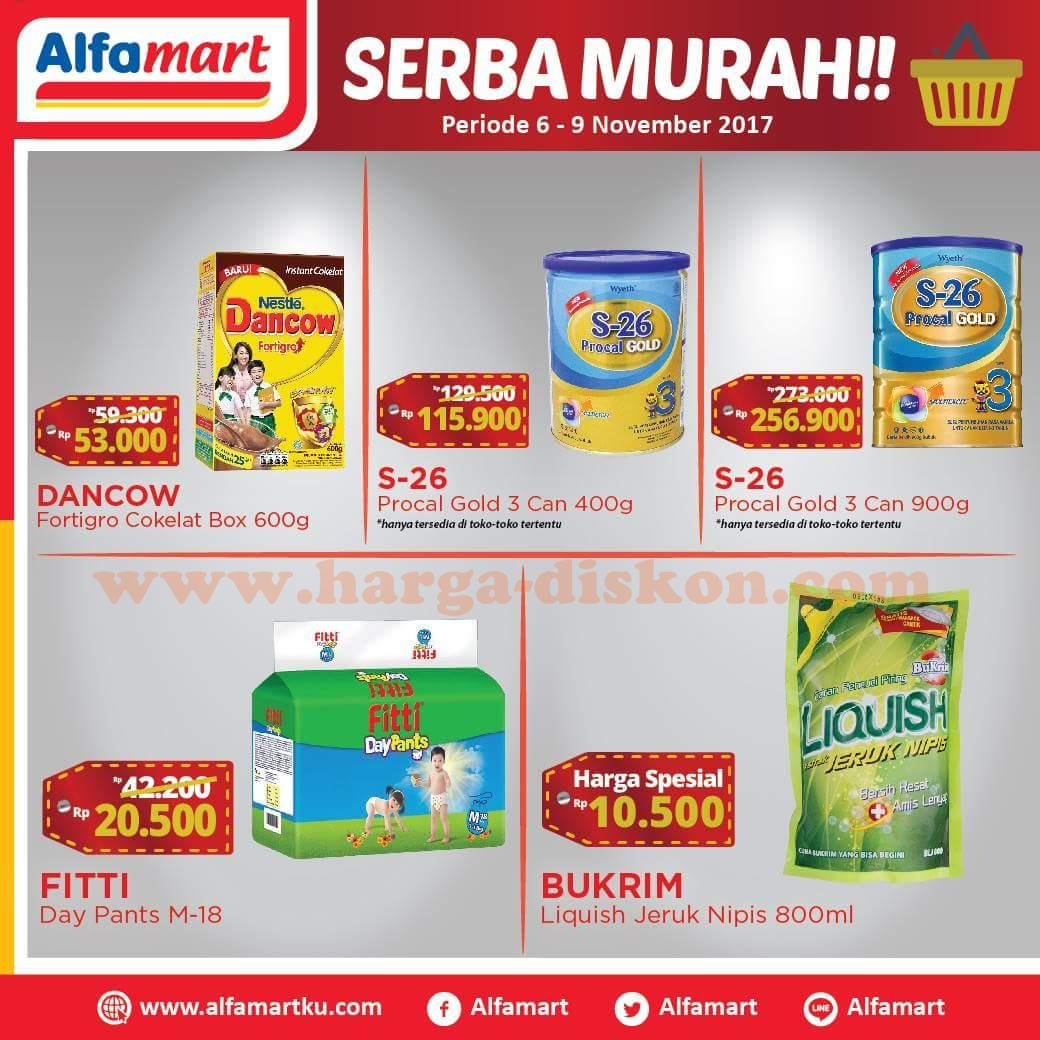 Katalog Promo Alfamart Terbaru Serba Murah Periode 06 09 November 2017 Harga Diskon