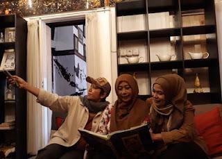 Spot Foto menarik dengan perabotan di Social Palace, Jl. Tondano, Sawojajar, Malang