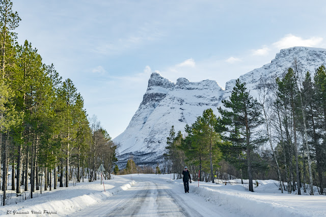 Ruta hacia Skibotn - Tromso por El Guisante Verde Project