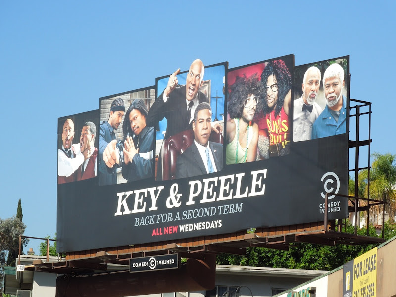 Key Peele season 2 billboard
