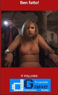 Soluzioni Quiz Horror Movie livello 30