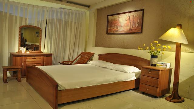 Thiết kế giường ngủ đơn giản như tinh tế, hướng đến sự sang trọng