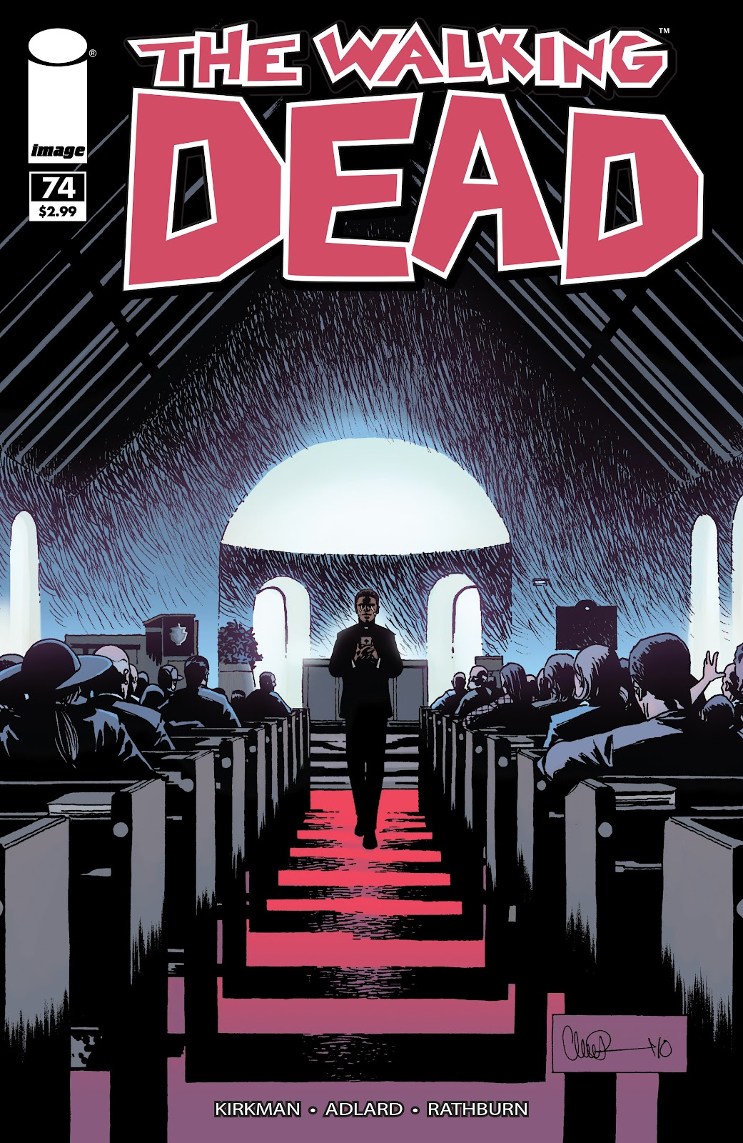 The Walking Dead issue 74 - Page 1