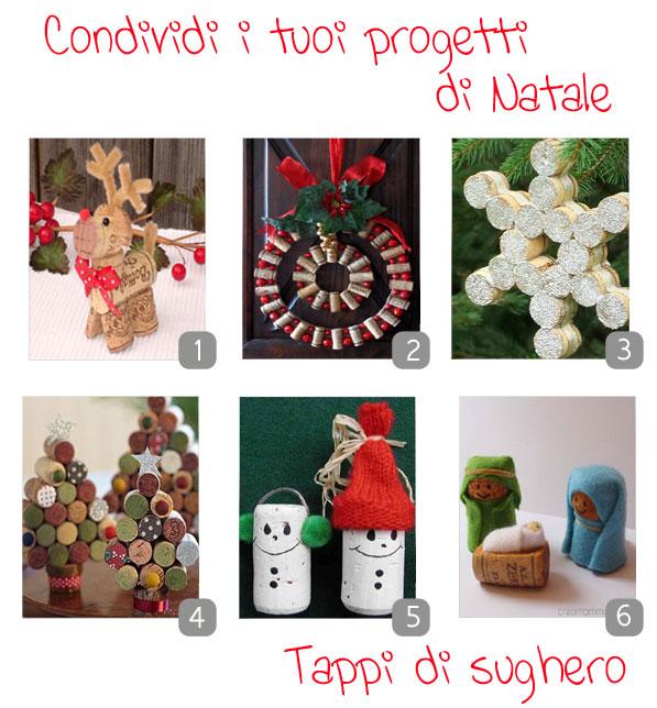 Lavoretti Di Natale Tappi Sughero.Lavoretti Di Natale Con I Tappi In Sughero Kreattivablog