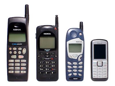 Primera generación telefonía móvil