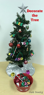 Decorate the classroom tree