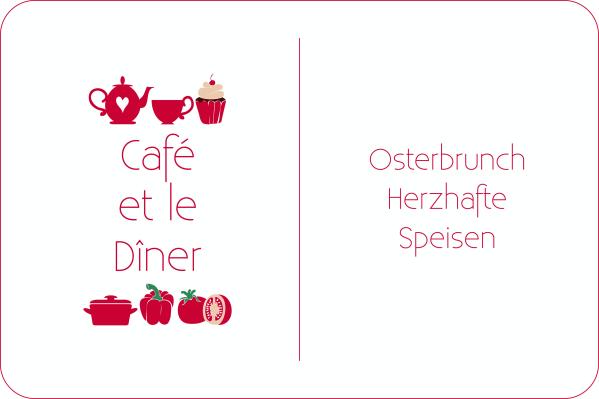Café et le Dîner Bärlauch Brunch Ostern Mozzarella Brot Spargel Fleurcoquet