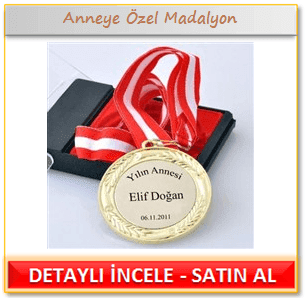 Anneye Özel Madalyon