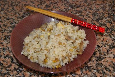 arroz cantonés ibérico