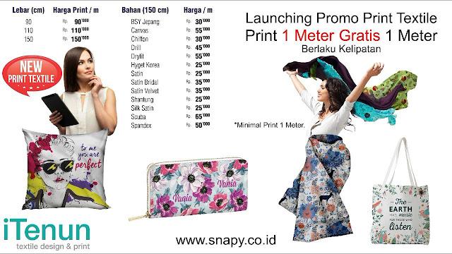 Print Textile Untuk Pribadi Maupun Perusahaan Ya Di Snapy Aja