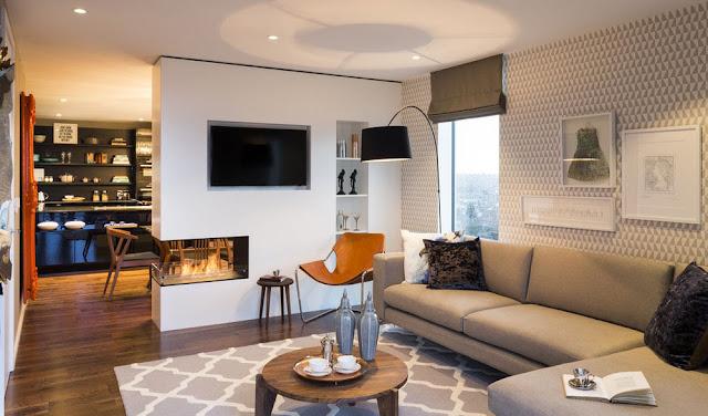 ruang keluarga minimalis sederhana