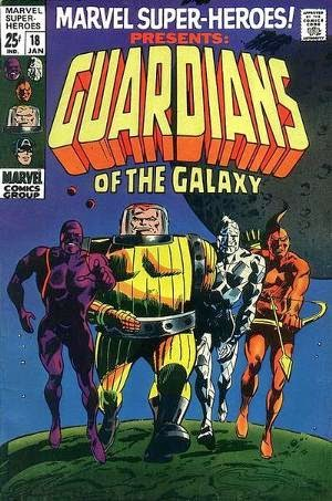 Key Issue Comics of Guardians of the Galaxy Movie Characters!