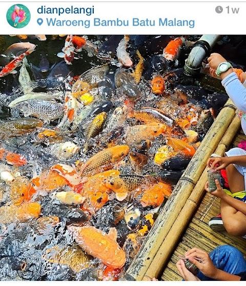 Waroeng Bamboe Lesehan Sidomulyo, Batu-Malang