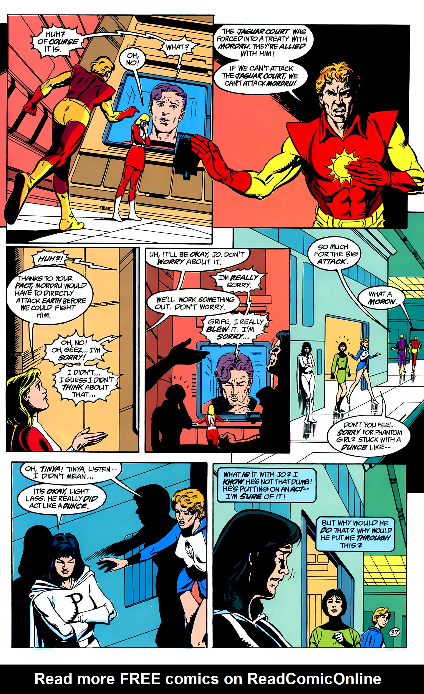 Legion of Super-Heroes (1989) _Annual_1 Page 37