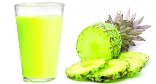 как сделать ананасовый сок от кашля рецепт