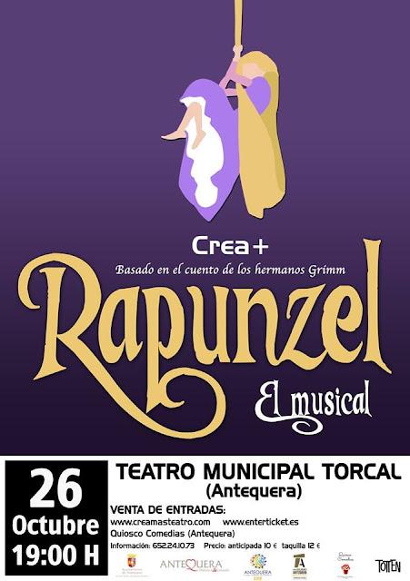 """Musical """"Rapunzel"""" en Antequera"""