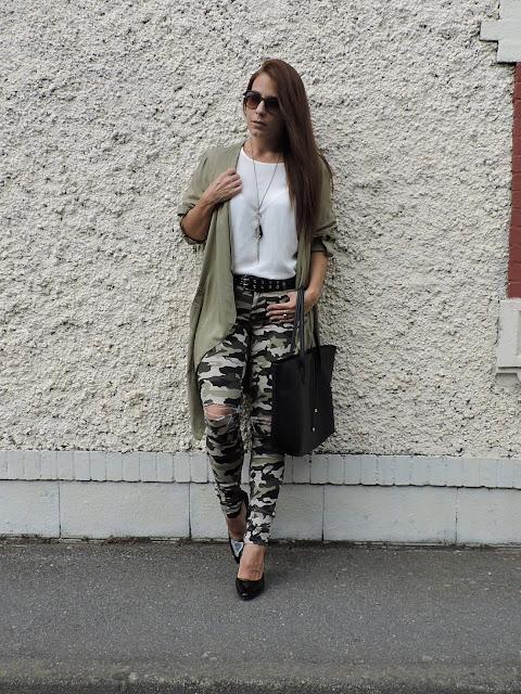 pantalon camuflaje