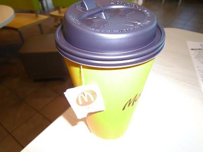 McDonald's Large Hot Tea
