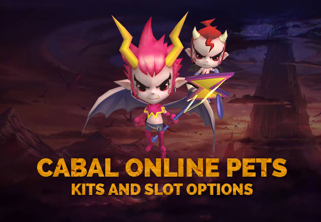 Cabal Online Pets | Kits and Slot Options