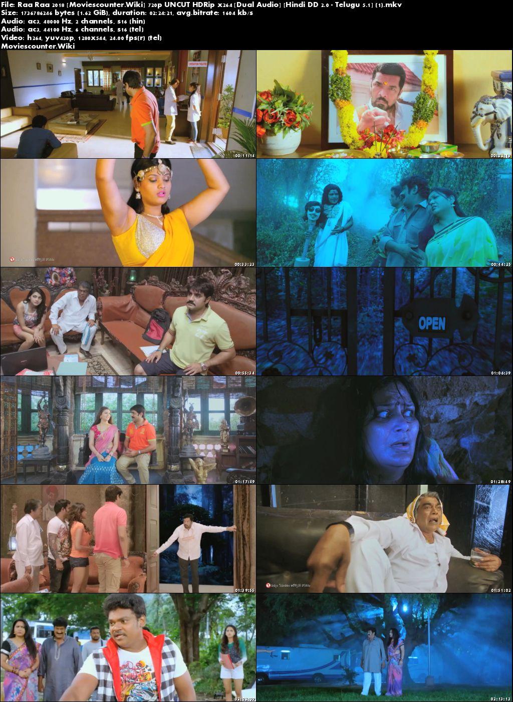 Screen Shots Raa Raa 2018 Hindi Dubbed HD 720p