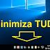 Windows 10 - Como minimizar janelas e programas para perto do relógio