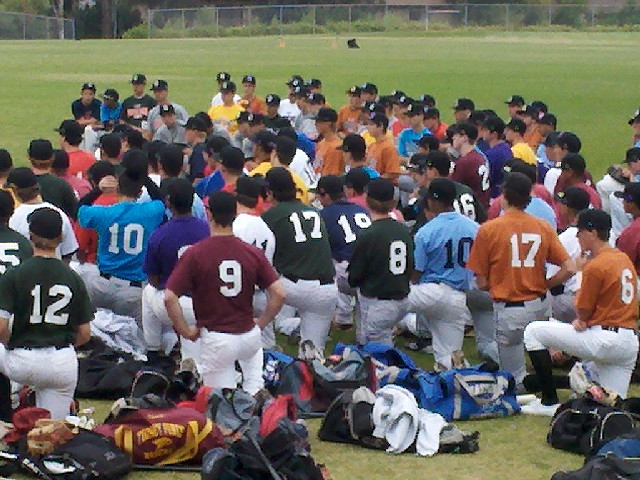 Lars Leweck: Perfect Game Sunshine West Showcase - Baseball