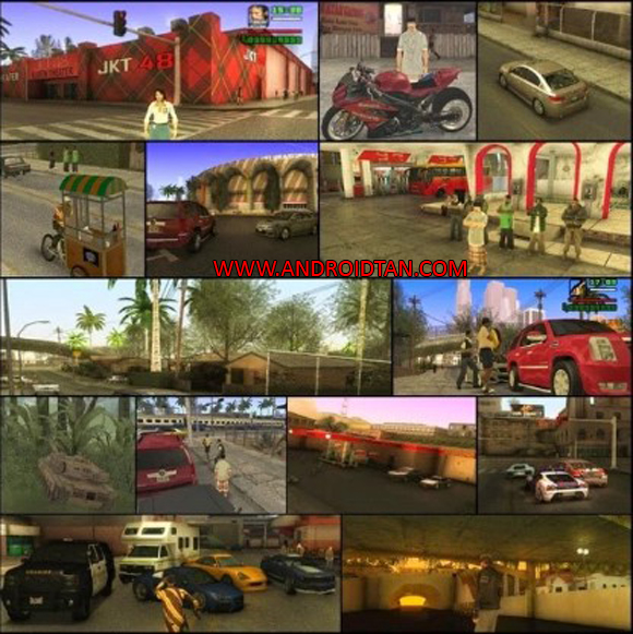 GTA SA Mod GTA Extreme Indonesia Apk for Android
