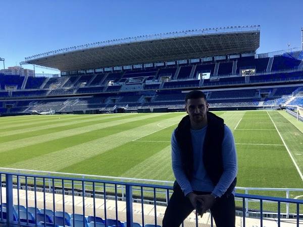 """Xiscu Martínez - Atlético Malagueño -: """"Hoy es un día muy feliz para mí"""""""