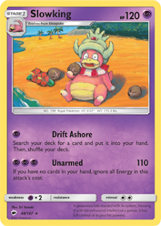 Slowking Burning Shadows Pokemon Card