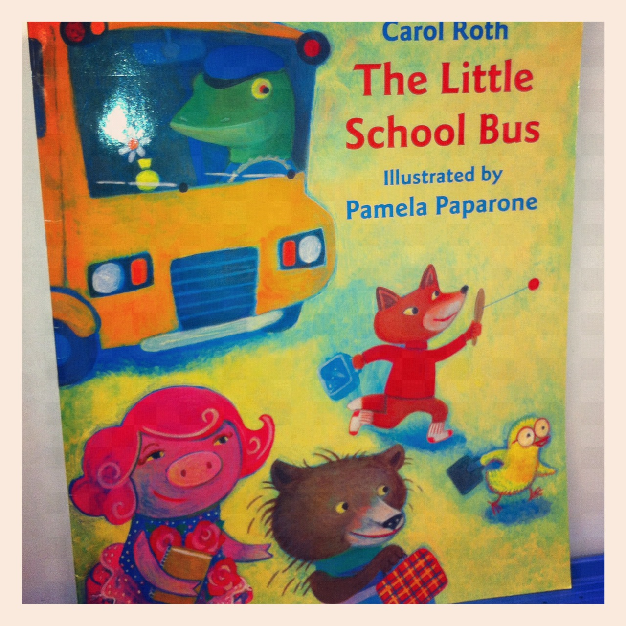 Mrs Cox S Kindergarten Class The Little School Bus