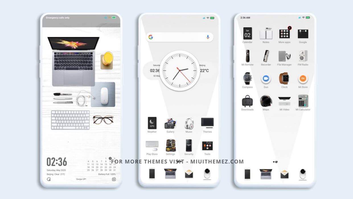 İpad Tablet v11 MIUI Theme