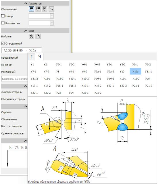 РД 26-18-8-89 Сварные соединения приварки люков, штуцеров и муфт