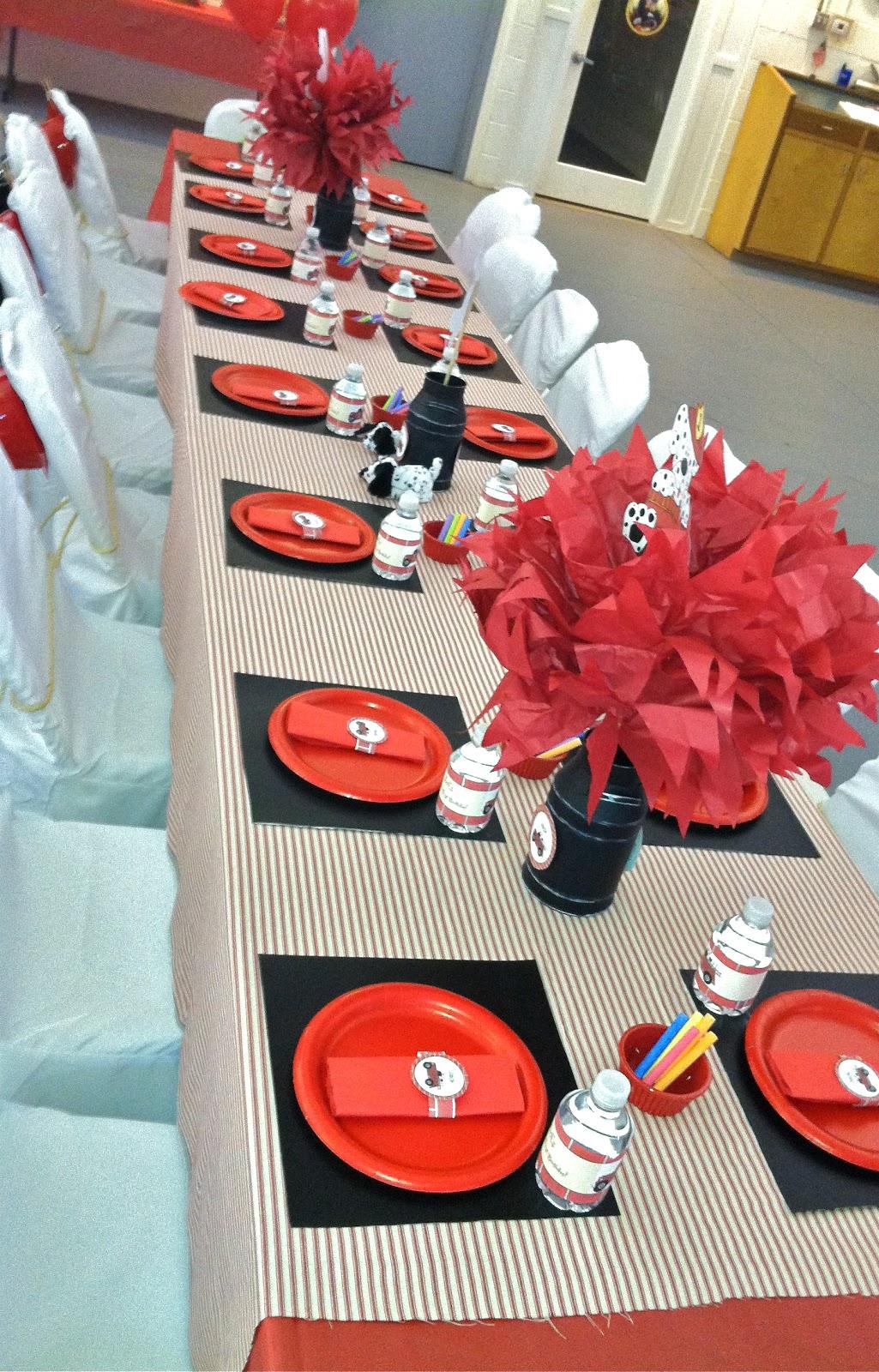 Pretti Mini Blog Jacks Blazin Fire Fighter Party