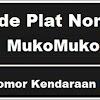 Kode Plat Nomor Kendaraan Muko Muko