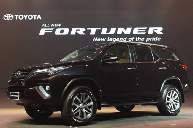 2016 Toyota Fortuner Release Date And Change