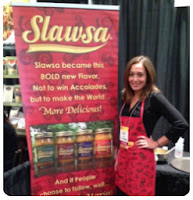 Slawsa and Julie Busha seen on Shark Tank Show