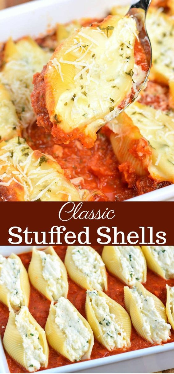 Ricotta Stuffed Shells