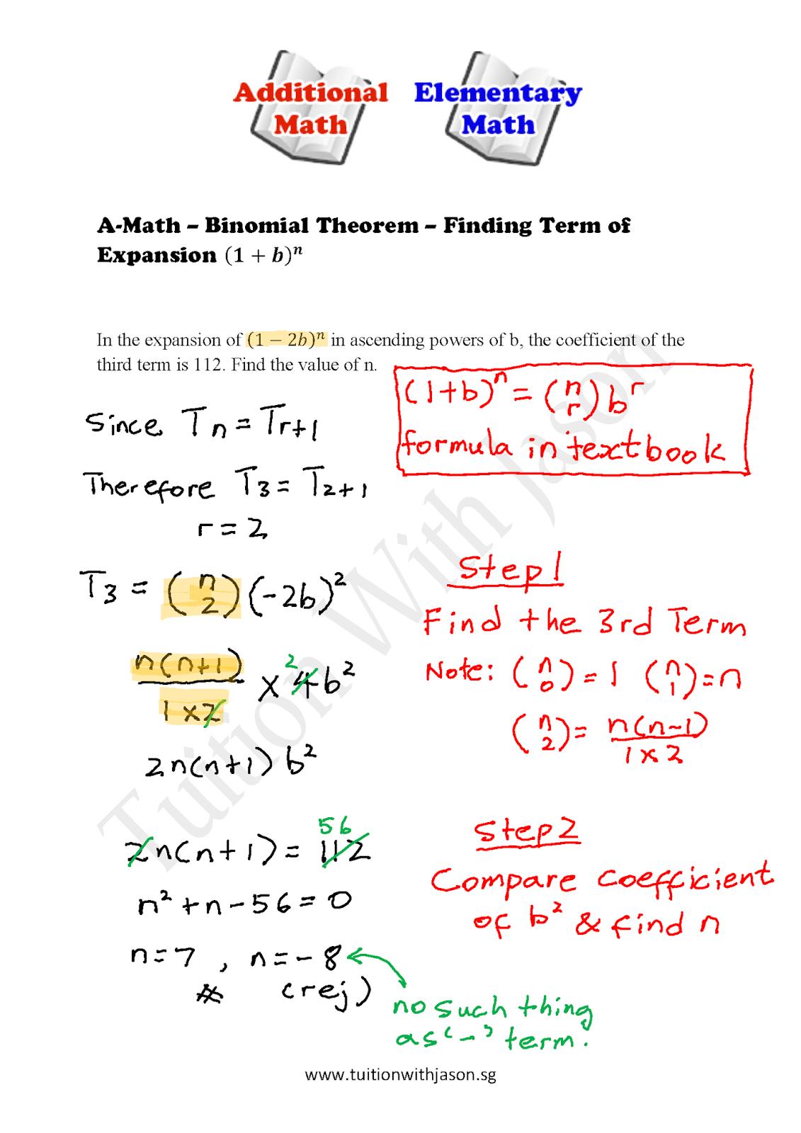 Gce O Level Additional Mathematics Exam Papers