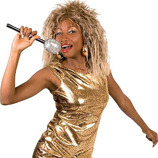 Tina Turner 80s Fancy Dress Costume