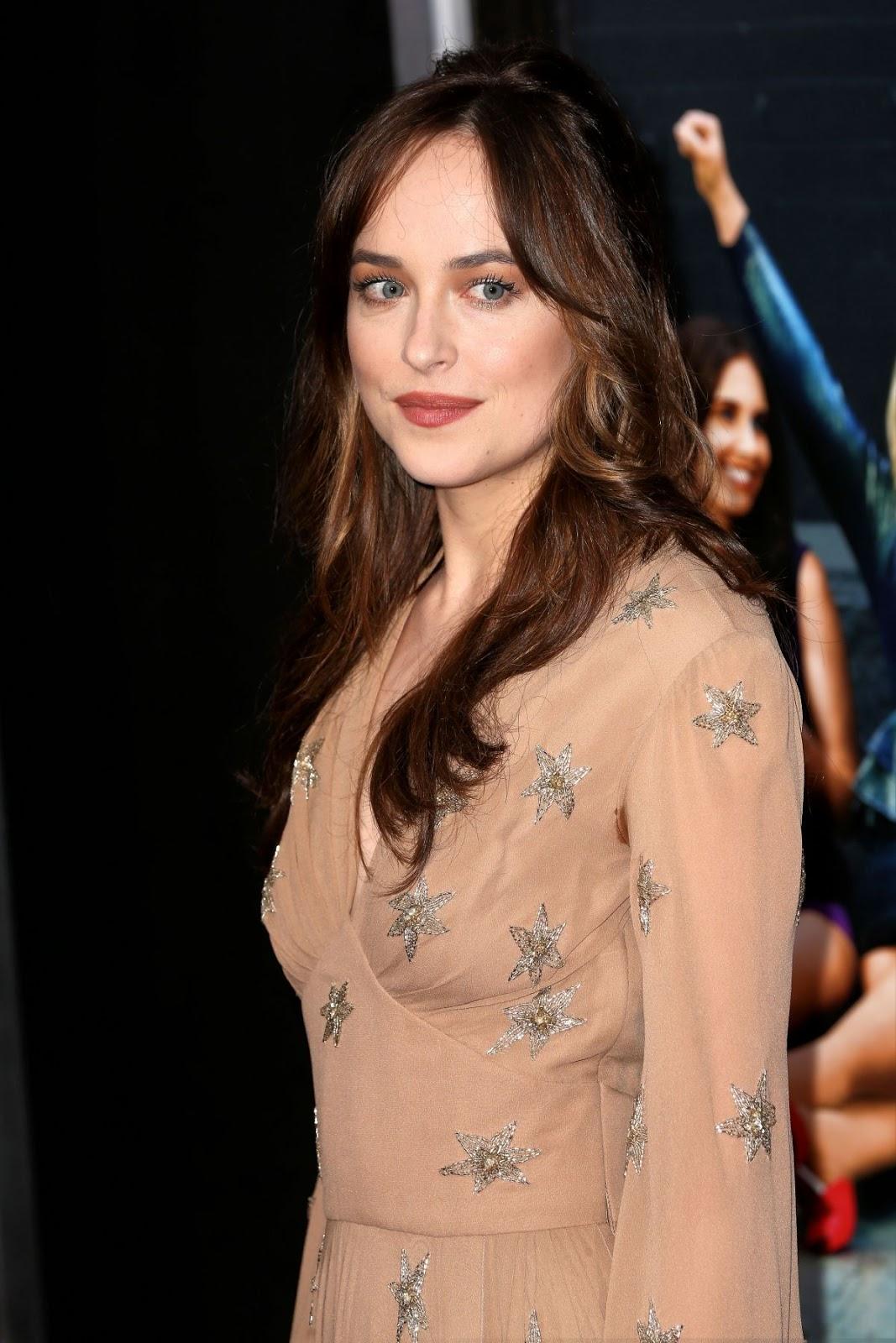 """Fifty Shades Darker"" actress Dakota Johnson at 'How to be Single' New York Premiere"