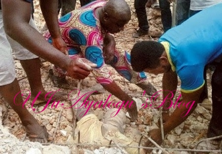 Calabar Church Where 5 Human Bodies Exhumed, Pastor, 6 Others Arrested as Mob Set Church Ablaze