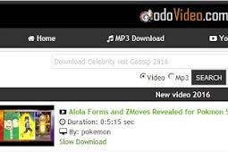 Dodovideo.com tempat download video youtube tercepat