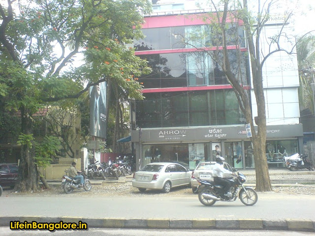 Arrow Indiranagar 100ft road