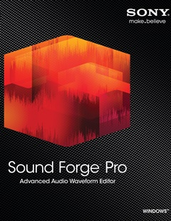 SONY Sound Forge Pro 11.0 build 299 + Registro
