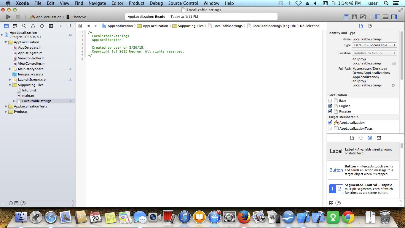 IOS APP LOCALIZATION Screen 6