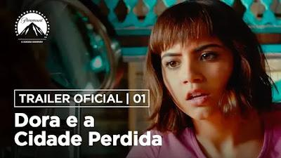 Dora e a Cidade Perdida trailer dublado