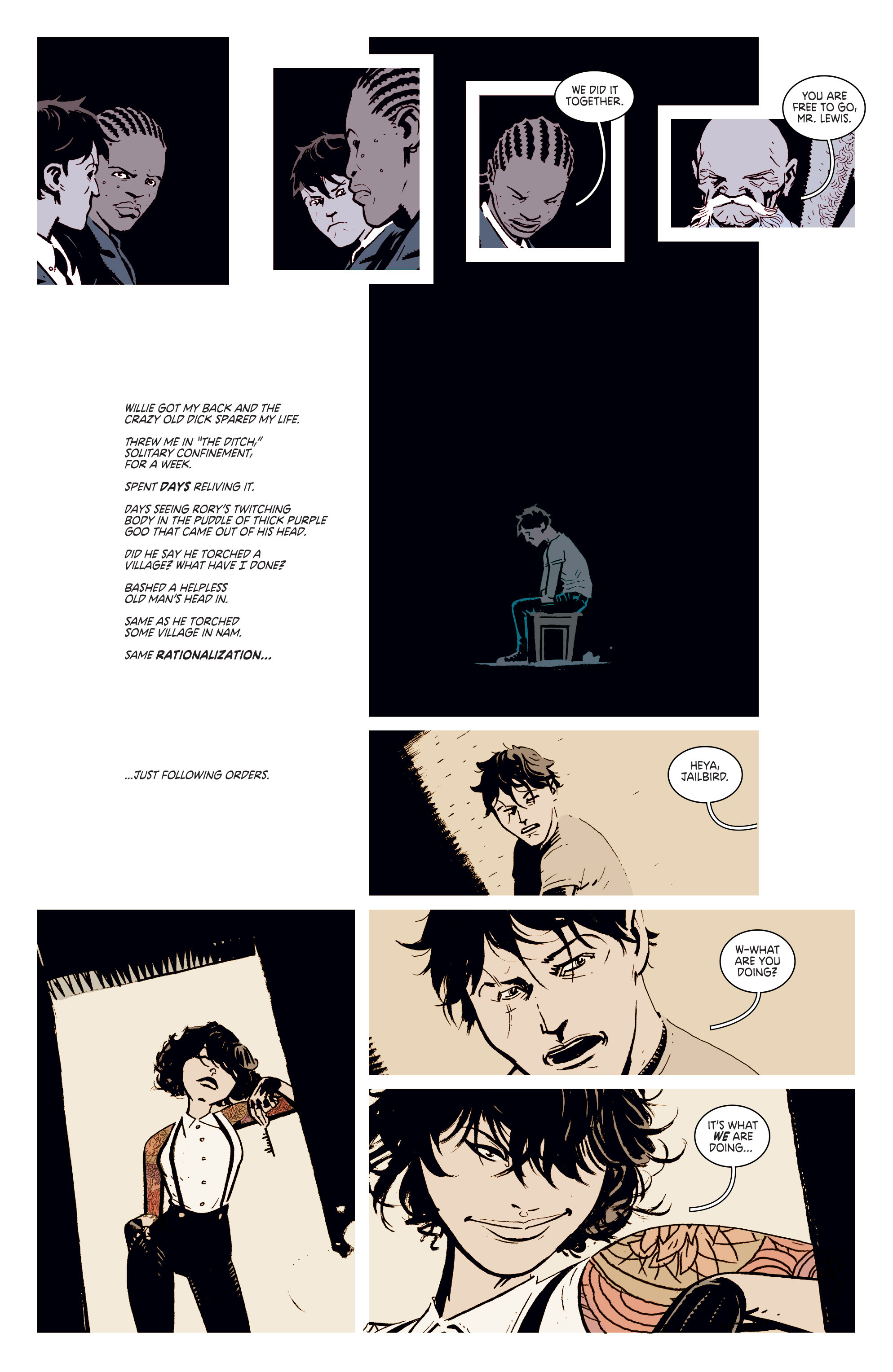 Read online Deadly Class comic -  Issue #4 - 6