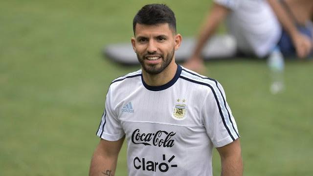 Lawan Brasil, Argentina Cadangkan Aguero